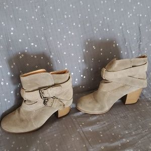 Mossimo suede ankle booties